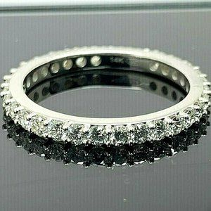 Eternity Band Diamond Ring 1.00ctw VS G-H 14k Gold